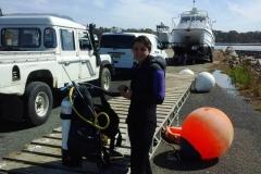 First-dive-in-Tasmania