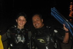 First-night-dive